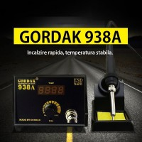 Statie de lipit cu letcon Gordak 938A